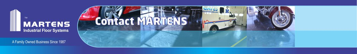 Martens Epoxy Flooring Contacts Page