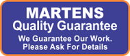 Martens Epoxy Quality Guarantee